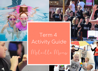 Term 4 Activity Guide - Kids Classes in Melville