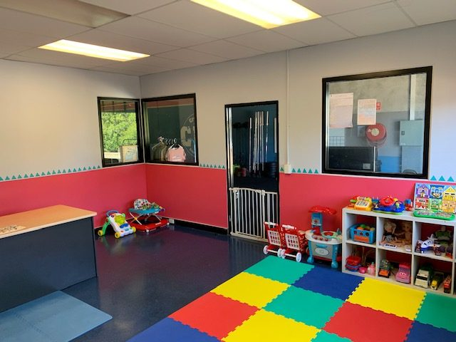 Our dedicated kids play room