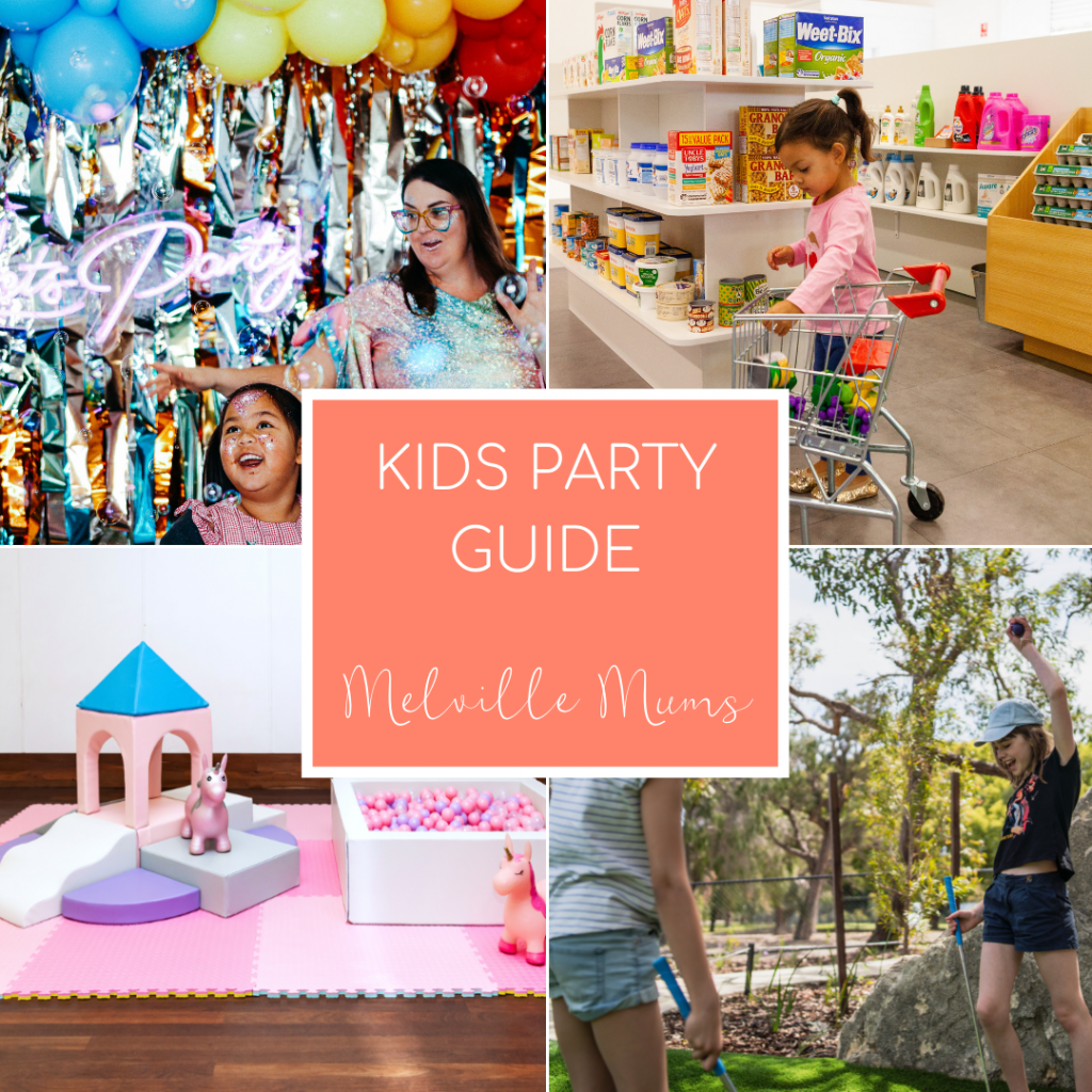 kids party guide Melville